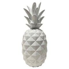 Vintage White Acrylic Pineapple