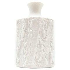 Vintage White Bisque German Fine Bone Porcelain Vase by Bareuther, circa 1970s