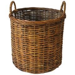 Vintage Wicker Basket, Large