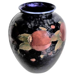 Vintage William Moorcroft Pomegranate Art Pottery Vase