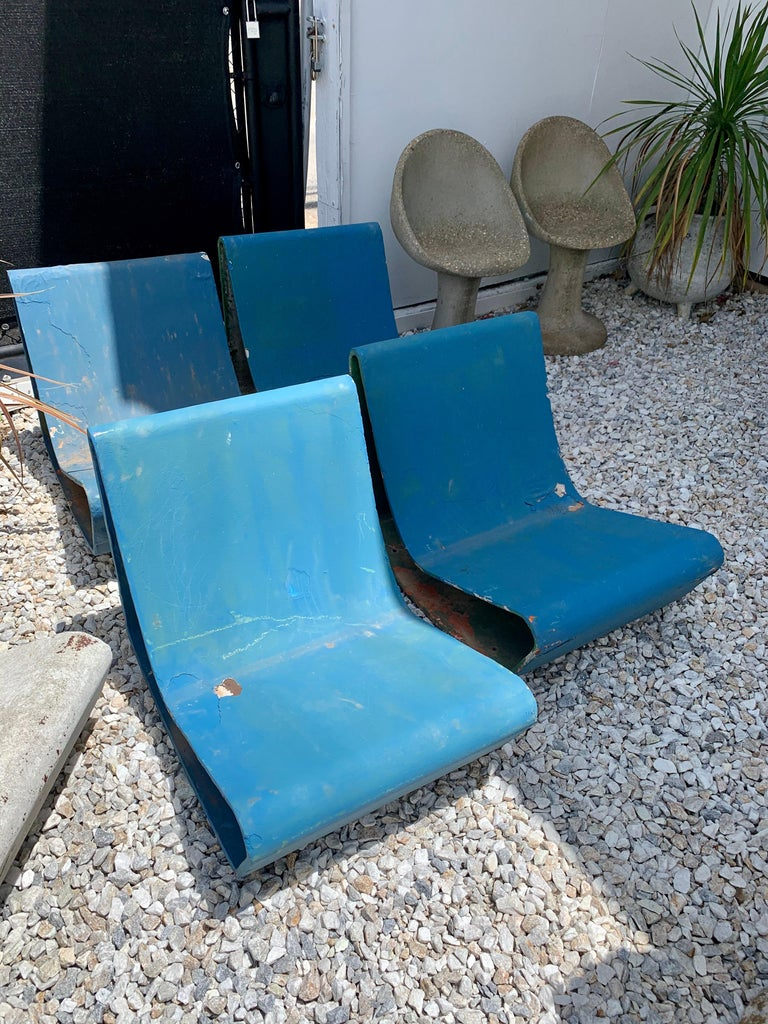 Vintage Willy Guhl Loop Chairs For Sale 5