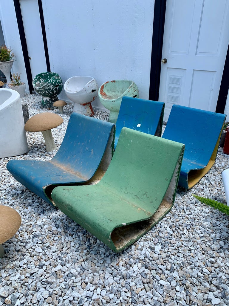 Vintage Willy Guhl Loop Chairs For Sale 7
