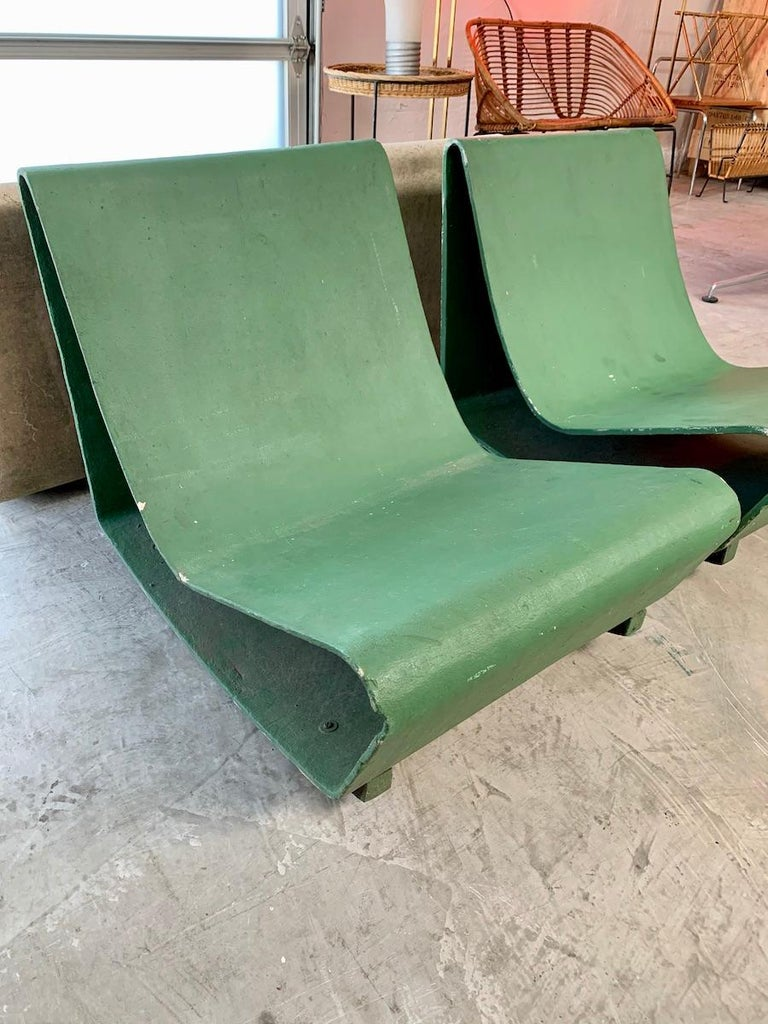 Brazilian Vintage Willy Guhl Loop Chairs For Sale