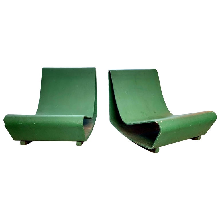 Vintage Willy Guhl Loop Chairs For Sale