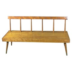 Vintage Window Bench in the Style of New Hope Studio