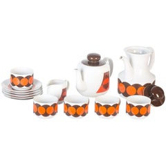 Vintage Winterling Tea Set, 1970s