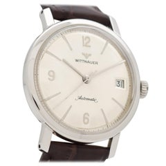 Vintage Wittnauer Automatic Stainless Steel Watch, 1960s