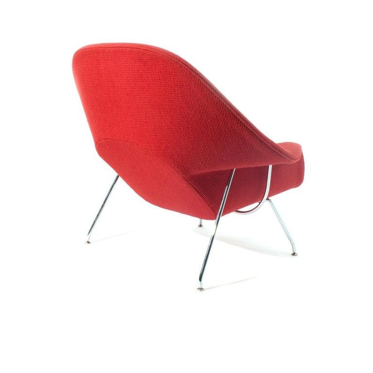 Mid-Century Modern Vintage Knoll Womb Chair by Eero Saarinen in COM For Sale