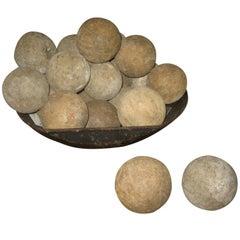 Vintage Wood Balls