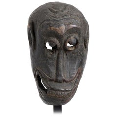 Vintage Wood Mask from Nepal