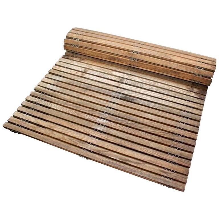 Vintage Wooden Conveyor Belt For Sale
