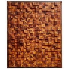 Vintage Wooden Panels, 1970s