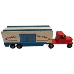 Vintage Wooden Truck Toy