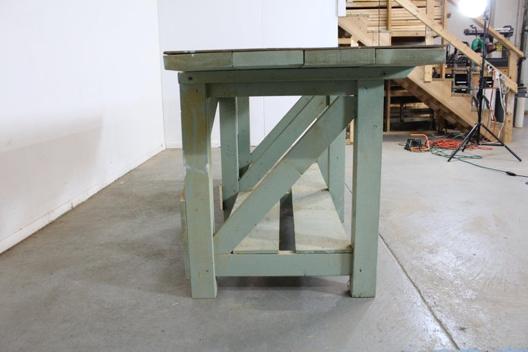 Industrial Vintage Workbench 96