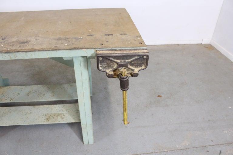 20th Century Vintage Workbench 96