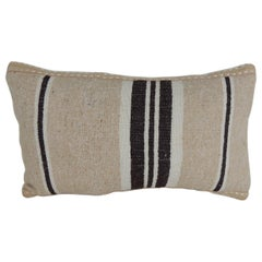 Vintage Woven Tribal Artisanal Textile Decorative Lumbar Pillow