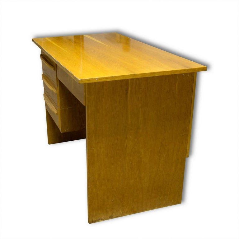 Vintage Writing Desk, 1970s, Czechoslovakia In Good Condition For Sale In Prague 8, CZ
