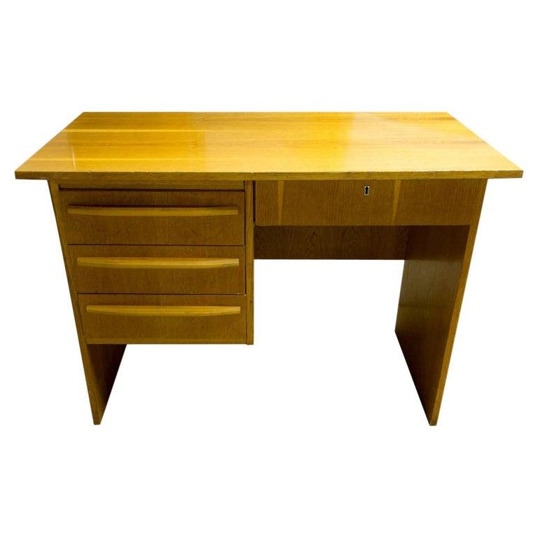 Vintage Writing Desk, 1970s, Czechoslovakia For Sale