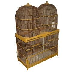 Vintage Yellow Birdcage