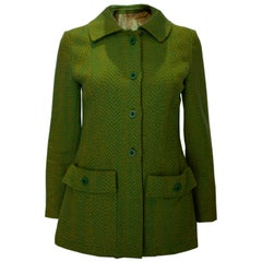 Vintage Yellow /Green Jacket by Marcus Boutique