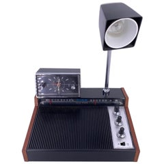 Vintage York Solid State Radio with Clock, Light and Speaker