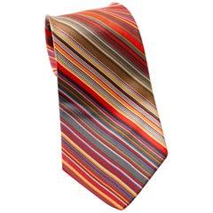Vintage Yves Saint Laurent 100% silk elegant tie