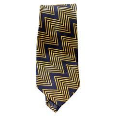 Vintage Yves Saint Laurent 100% silk tie