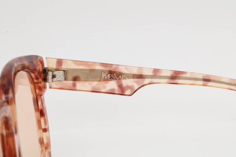 Women's Vintage Yves Saint Laurent Large Sunglasses For Sale