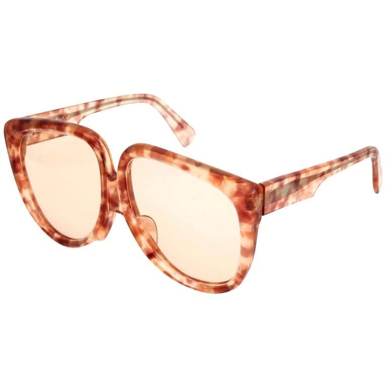 Vintage Yves Saint Laurent Large Sunglasses For Sale