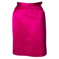 Vintage Yves Saint Laurent  Pink Skirt