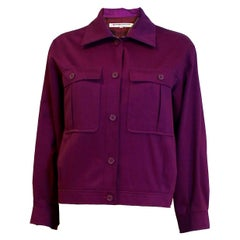 Vintage Yves Saint Laurent Purple Jacket