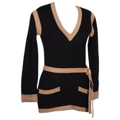 Vintage Yves Saint Laurent Sweater Wool Paris France, 1970s