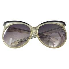 Vintage YVES SAINT LAURENT Ysl Butterfly Oversized Sunglasses