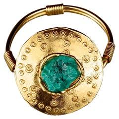 Vintage YVES SAINT LAURENT Ysl by Robert Goossens Ethnic Turquoise Cuff Bracelet