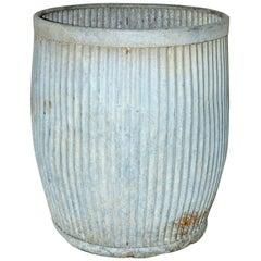 Vintage Zinc Barrel