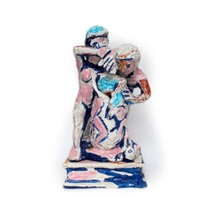 FIGURES AND VASE #1