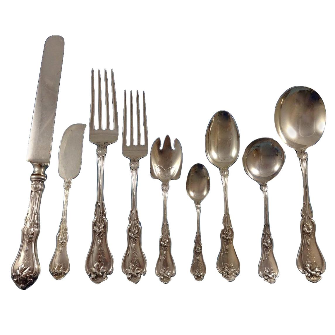 """King Albert by Whiting Sterling Silver Bouillon Soup Spoon 5 1//8/"""""""