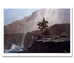 """Morning Mist"" Limited Edition Hand-Signed Seascape by Violet Parkhurst"
