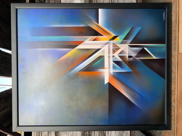 Violin Painting by Artist Nierman For Sale 4