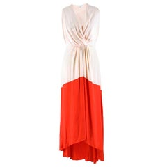 Vionnet Blush and Coral Sateen Gown 38 (IT)