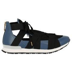 Vionnet Woman Sneakers Black Leather IT 38