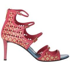 Vionnet Women  Sandals Beige Leather IT 40