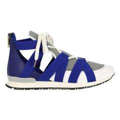 Vionnet Women's Sneaker Navy/White Leather Size IT 38