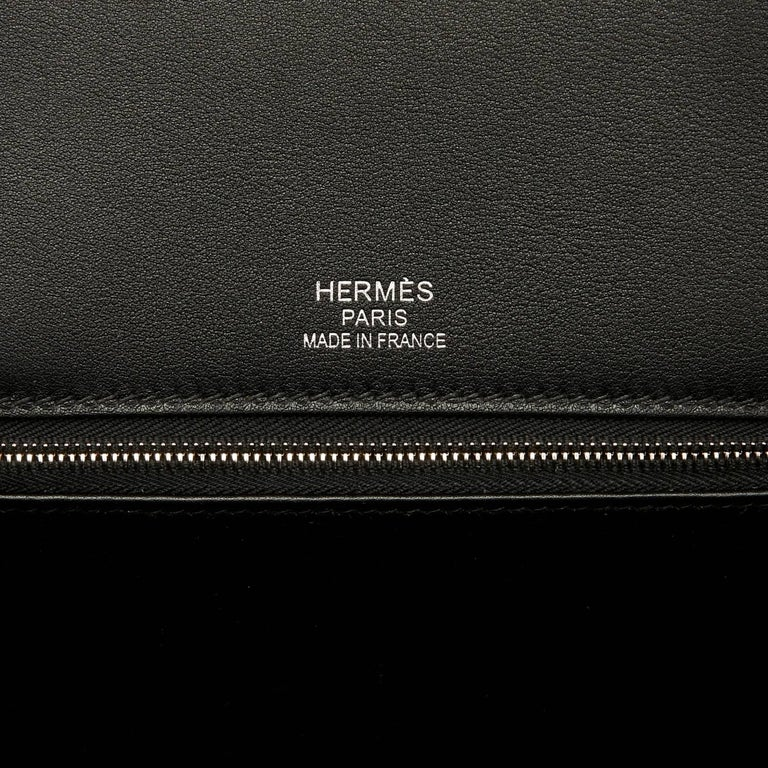 Hermes VIP 35 De Camp Dechainee Toile Swift Chevre Limited Edition Birkin Bag For Sale 5