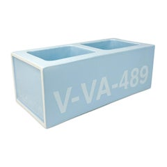 Virgil Abloh x Vitra Ceramic Block Baby Blue