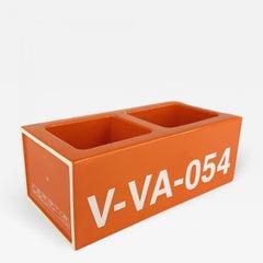 Virgil Abloh x Vitra Ceramic Block Orange