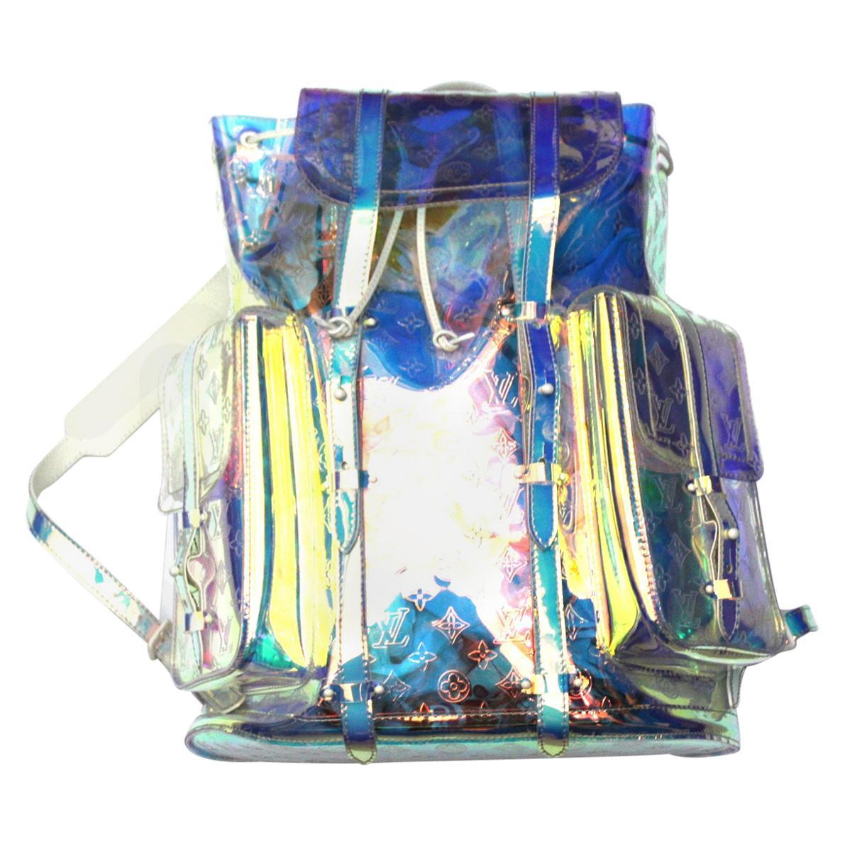 Virgil Abloh x Louis Vuitton Prism Christopher GM Backpack Bag