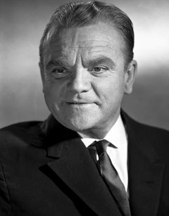 James Cagney Smiling Up Close Movie Star News Fine Art Print