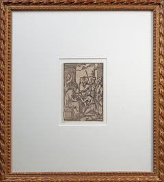 'Christ Crowned with Thorns' Renaissance woodcut print, Virgil Solis after Dürer