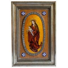 Virgin of Silver and Enamel 'Masriera Y Carrera'